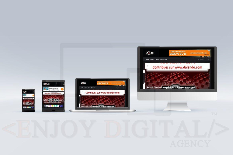 Zouk TV Tablette mobile PC